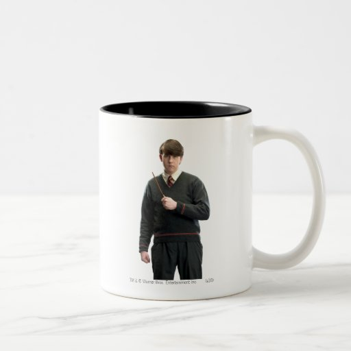Neville Longbottom Crossed Arms Two-Tone Coffee Mug