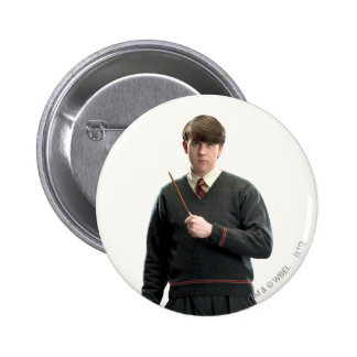 Neville Longbottom Crossed Arms Pinback Button