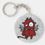 Neville the devil keychain