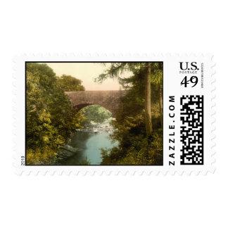 Nevis Bridge, Fort William, Scotland Postage Stamp