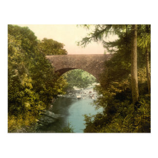 Nevis Bridge, Fort William, Scotland Postcard