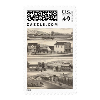 Nevis, Green residences, farms Postage Stamps