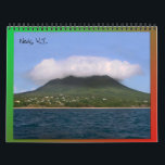 """Nevis Island Caribbean Calendar<br><div class=""""desc"""">Feel the warmth of the Caribbean year round with this Nevis island calendar. The calendar features photos of the beautiful island of Nevis,  W.I.</div>"""