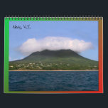 "Nevis Island Caribbean Calendar<br><div class=""desc"">Feel the warmth of the Caribbean year round with this Nevis island calendar. The calendar features photos of the beautiful island of Nevis,  W.I.</div>"