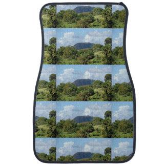 Nevis Landscape Car Mat