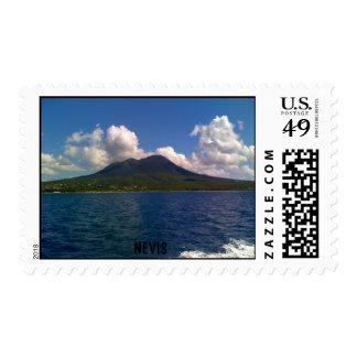 Nevis, las Antillas Timbres Postales
