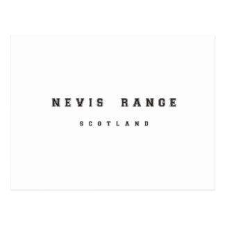 Nevis Range Scotland Postcard