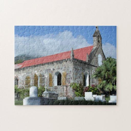Nevis, West Indies Church Puzzles