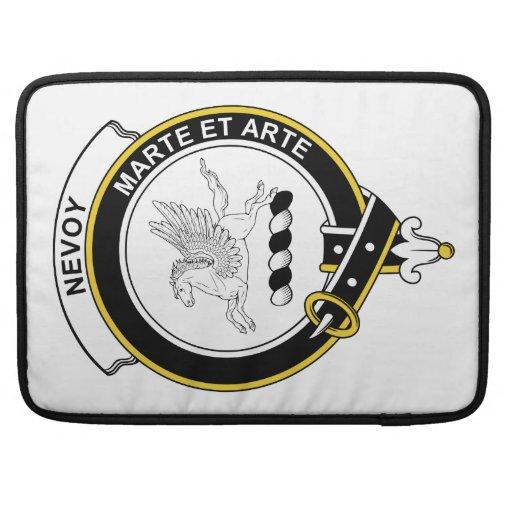 Nevoy Clan Badge MacBook Pro Sleeves