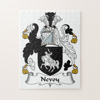 Nevoy Family Crest Puzzle