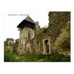 Nevytskyj castle post card