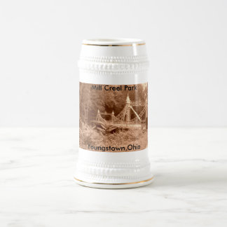 new 023, Mill Creel Park, Youngstown,Ohio 18 Oz Beer Stein
