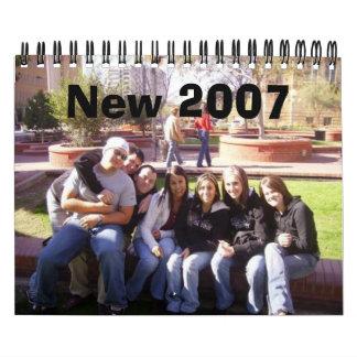 New 2007 calendar