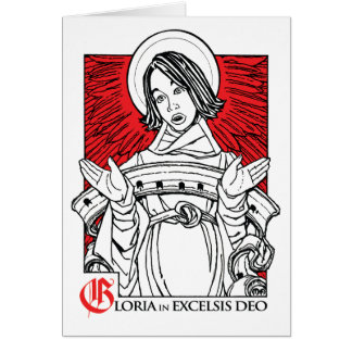 NEW! 2011 Christmas Card: Glory to God Card