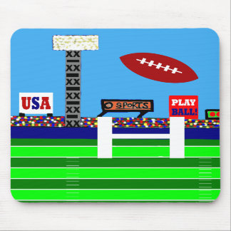 New 2012 Kids Football Mousepad Gift