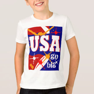 New 2013 Kids USA Sports Tshirt Cool Athlete Gift