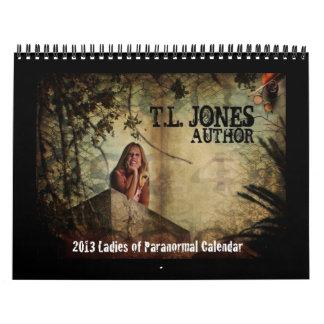 *NEW* 2013 Ladies of Paranormal Calendar