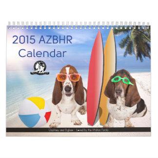 NEW - 2015 AZBHR Calendar