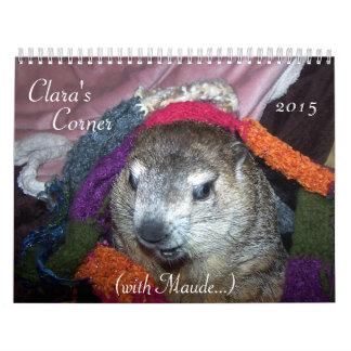 NEW!!! 2015 Clara's Corner Groundhog Calendar