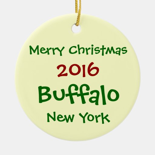 home decor stores in buffalo new york new 2016 buffalo new york merry christmas ornament zazzle 13597