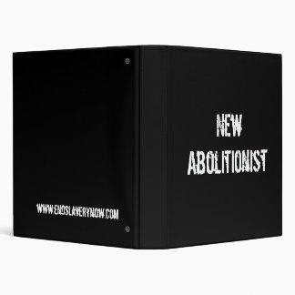 New Abolitionist 3 Ring Binder