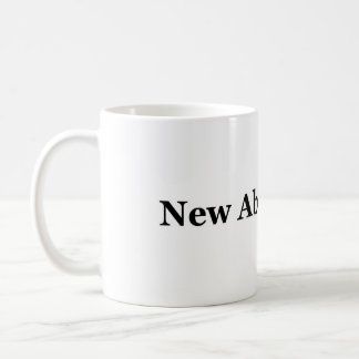 new abolitionist classic white coffee mug