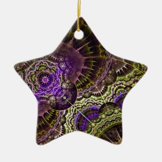 New Abstract Art Acrylic Print Ceramic Ornament