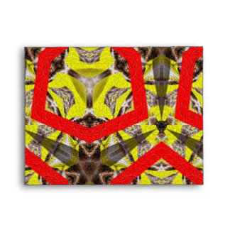 New abstract pattern envelope