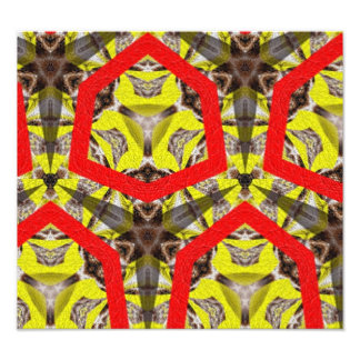New abstract pattern photo print