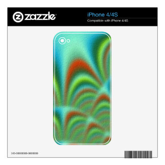 new abstract trendy pattern decal for the iPhone 4