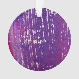 New! Acrylic ornament : circle purple edition