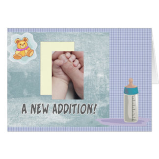 New Addition Baby Greeting Card