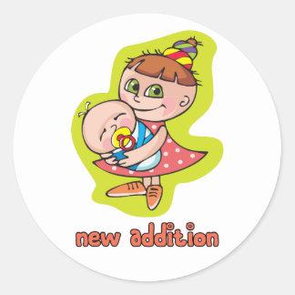 New Addition! Round Sticker