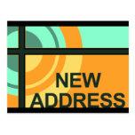 new address announcement : bullseye post cards