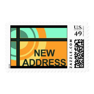 new address announcement : bullseye postage