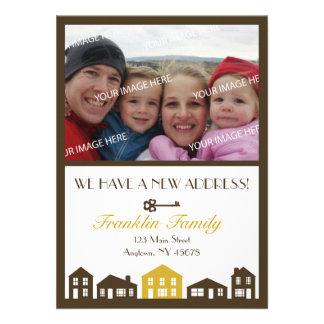 New Address Announcement Card