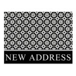new address announcement : elegant business postcards