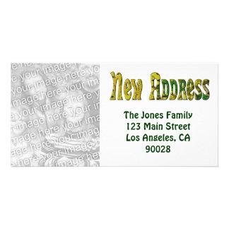 New Address Card