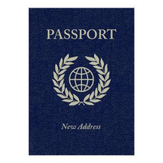 new address passport custom invite