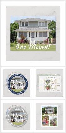 New Address Photo | Change of Address Cards