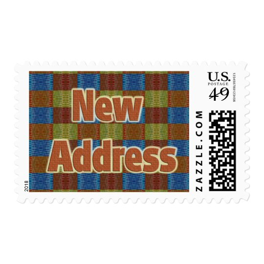 New Address Postage