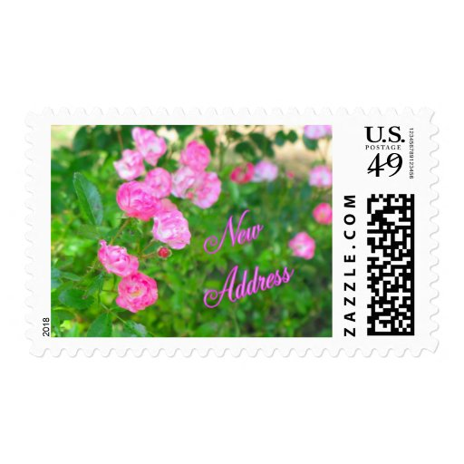 New Address Stamp