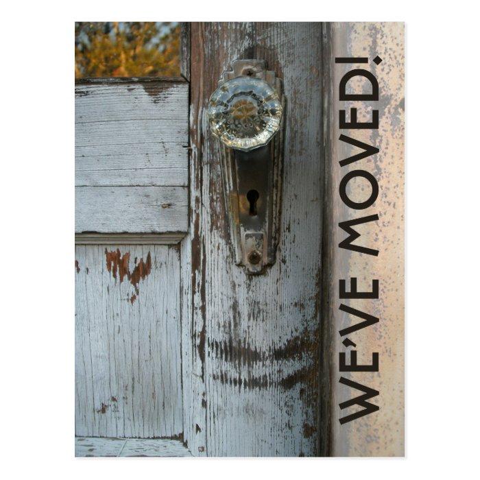 "New Address ""We've Moved"" Postcard"