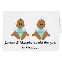 New African American Baby Gifts & Invites