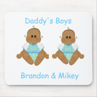 New African American Baby Gifts & Invites Mouse Pad