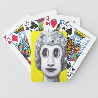 New Age Buddha (Japanese pop art) Bicycle Poker Deck