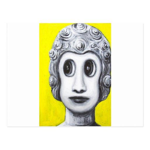 New Age Buddha (Japanese pop art) Postcard