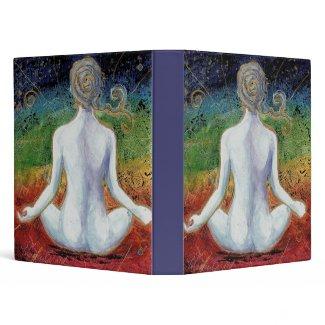 New Age Chakra Meditation Binder binder