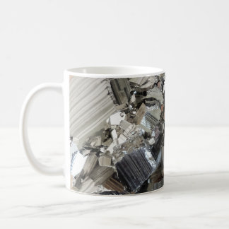 New Age Crystals Iron Pyrite Cluster Photo Coffee Mug