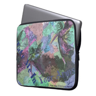 New Age Fantasy Angel Spiritual Laptop Under Wing Laptop Sleeves